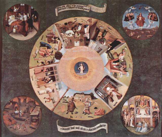 Zodiac - Hieronymus Bosch