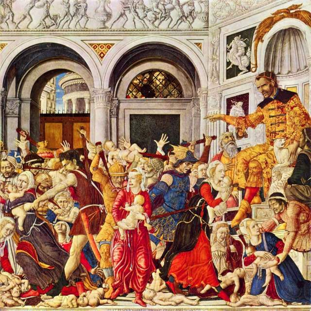 The Massacre of the Innocents at Bethlehem,