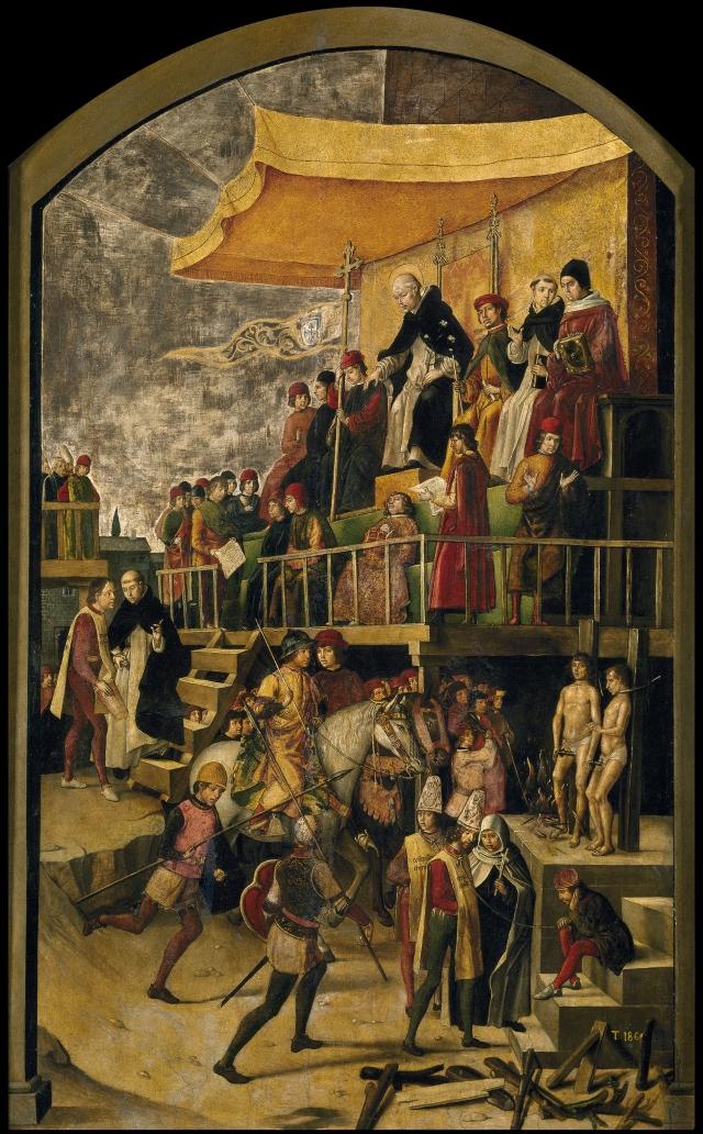 St Dominic Presiding over an Auto-da-fe